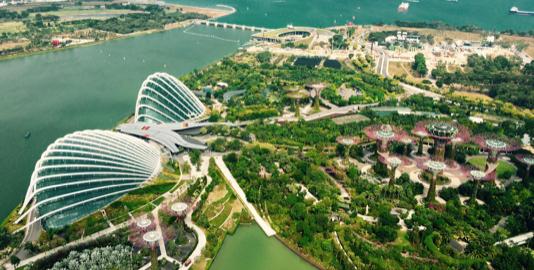 View of Singapore Gardens